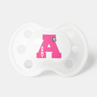 A is for Army Pacifiers