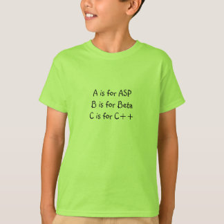 A is for ASP T-Shirt