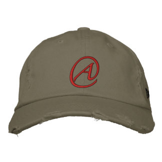 """A"" Is for Atheist Embroidered Hats"