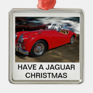 A JAG CHRISTMAS METAL ORNAMENT