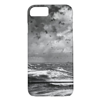 A Japanese bomb splashes astern of_War Image iPhone 7 Case