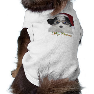 A Jersey Merry Christmas Dog Jacket Shirt