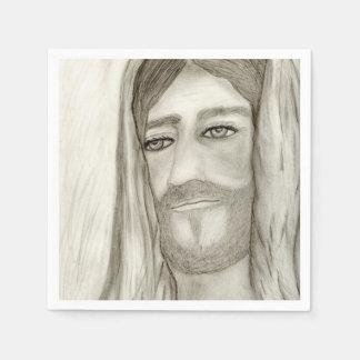 A Jesus Disposable Napkins