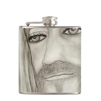 A Jesus Hip Flask