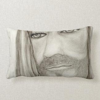 A Jesus Lumbar Pillow