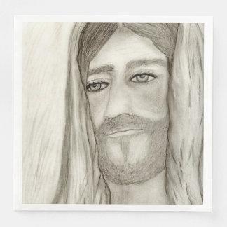 A Jesus Paper Napkin