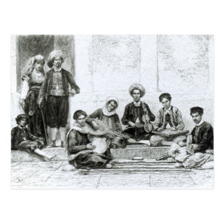 A Jewish Concert, Tlemcen Postcard