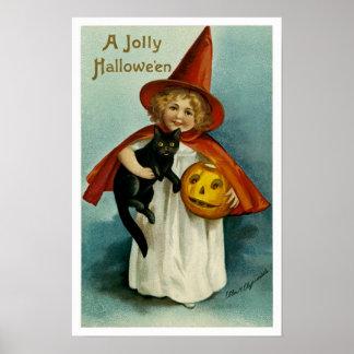 A Jolly Hallowe en Poster