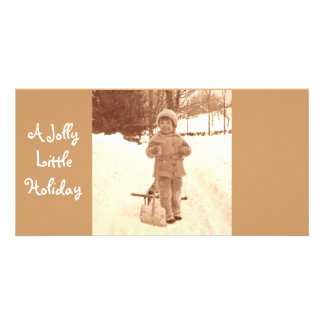 A Jolly Little Holiday Card