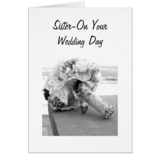 "A JOURNEY TO LAST A LIFETIME ""SISTER'S WEDDING"" CARD"