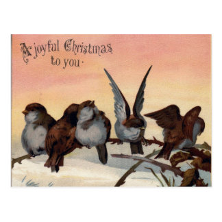 A Joyful Christmas Postcard