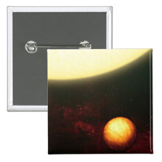 A Jupiter-like planet 2 Inch Square Button