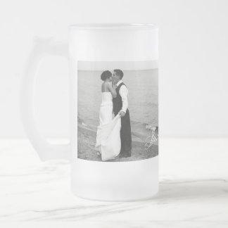 """""""A juste marié"""" Muggshotz a personnalisé la tasse"""