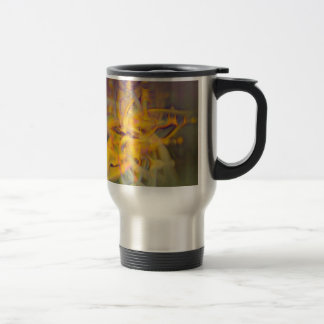 A Kinder, Gentler Abstract on Drugs Travel Mug