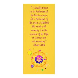 A Kindly Tongue Rack Card