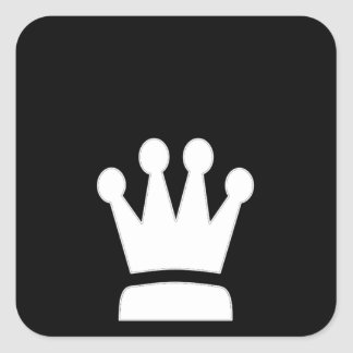 A King's Logo Square Sticker