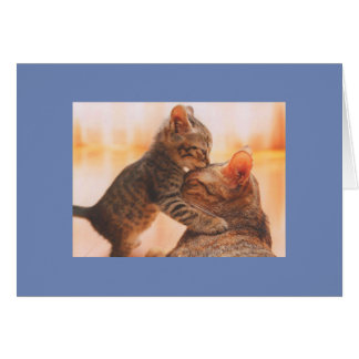 A kiss for momma card