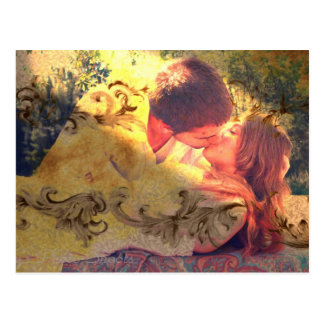A Kiss for Sleeping Beauty Postcard