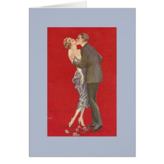 A Kiss on the Neck, Card