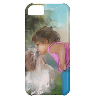 a kiss on the nose iPhone 5C covers