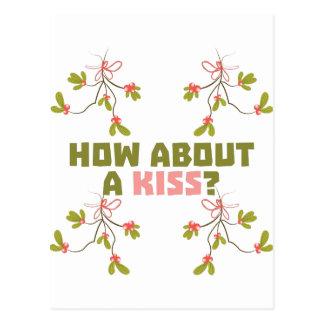 A Kiss Postcard