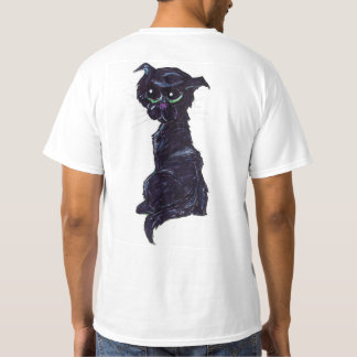 A #Kitty Named Jewel | #jWe | #BlackCat #GreenEyes T-Shirt