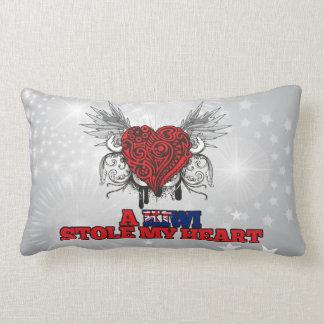 A Kiwi Stole my Heart Lumbar Pillow