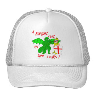 A Knight out on the town Trucker Hats