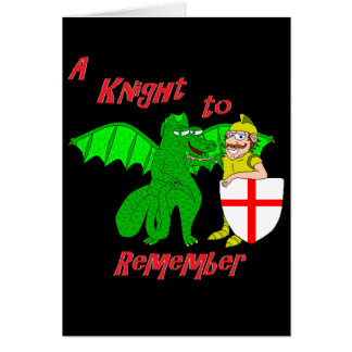 A Knight to Remember Card