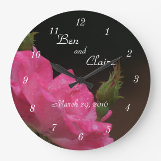 A Knockoout Rose Clock 4386- customize