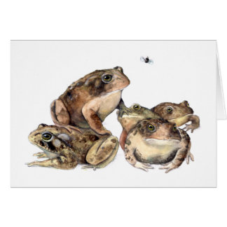 A Knot of Toads Card
