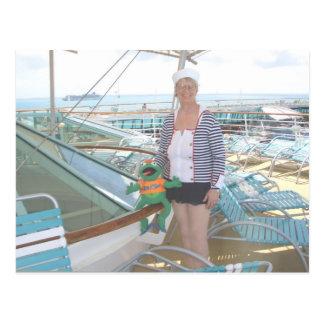 a Kunisch Sailor on Legend o t Seas 10 Postcard