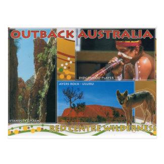 À l intérieur l Australie Carte Postale