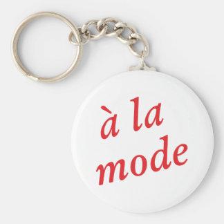A la mode keychain