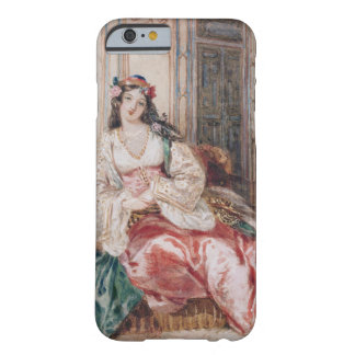 A Lady Seated in an Ottoman Interior Wearing Turki Barely There iPhone 6 Case
