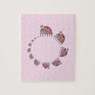 A Ladybird's Family Circle Jigsaw Puzzle
