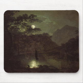 A Lake by Moonlight, c.1780-82 (oil on canvas) Mouse Pad