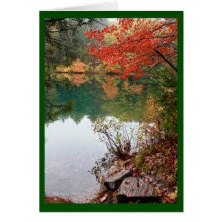 A Lake is Earth's Eye Card