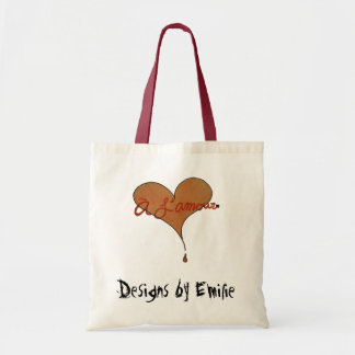 A L'amour Tote Bag
