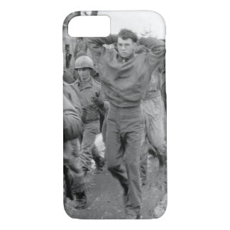 A lanky GI, with hands clasped behind_War Image iPhone 7 Case