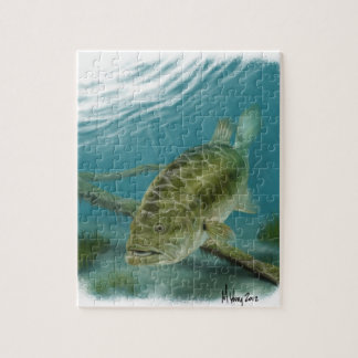 A Large Mouth Bass Jigsaw Puzzle