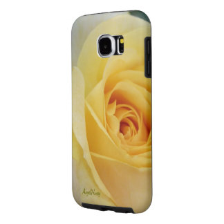 A Large Yellow Rose in Full Bloom ©AH2016 Samsung Galaxy S6 Cases