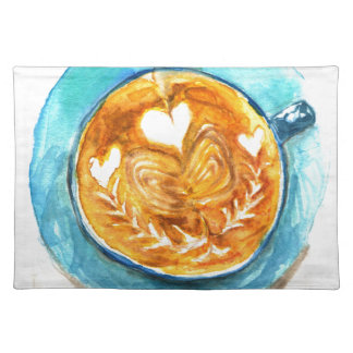 A Latte with Love Placemat