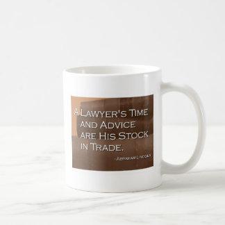 A Lawyer's Time Mug