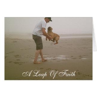 A Leap Of Faith Card