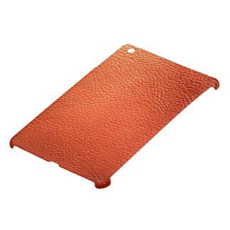 A leather finished iPad mini case