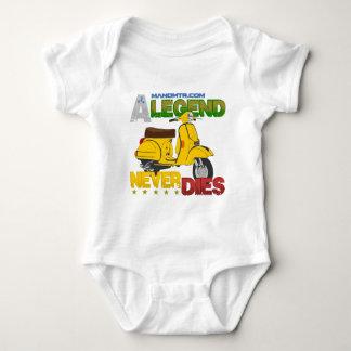 A_Legend_Never_Dies_(Px 125) Baby Bodysuit