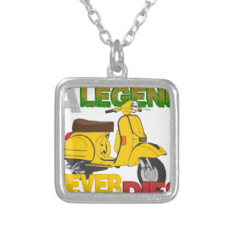 A_Legend_Never_Dies_(Px 125) Silver Plated Necklace