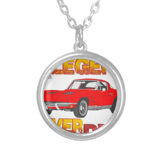 A_Legend_Never_Dies_(Vette S.R.) Silver Plated Necklace