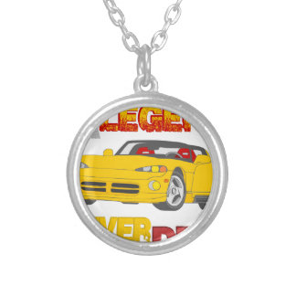 A_Legend_Never_Dies_(VPR) Silver Plated Necklace